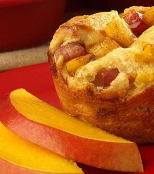 Mango and Ham Popovers